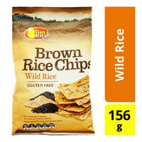 SunRice Brown Rice Chips - Wild Rice