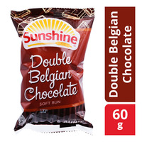 Sunshine Soft Bun - Double Belgian Chocolate