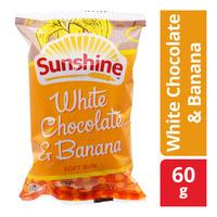 Sunshine Soft Bun - White Chocolate & Banana