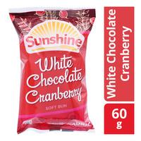 Sunshine Soft Bun - White Chocolate Cranberry