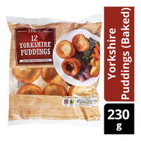 Tesco Frozen Yorkshire Puddings (Baked)