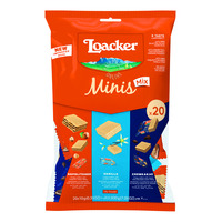 Loacker Classic Mini Crispy Wafers - Assorted
