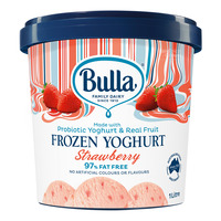 Bulla Frozen Yoghurt - Strawberry