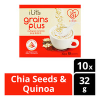 iLlte Grains Plus Multigrain Hot Drink - Chia Seeds & Quinoa