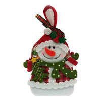 Olive Tree Christmas Butter Cookies - Snowman