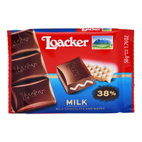 Loacker Chocolate and Wafer Bar - Milk
