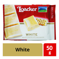 Loacker Chocolate and Wafer Bar - White