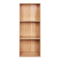 Panel Base 3 Tier Shelf - Oak