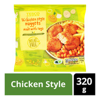 Tesco Frozen Meat Free Nuggets - Chicken Style