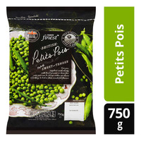 Tesco Finest Frozen British Petits Pois