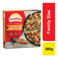 Sunshine Frozen Pizza - Charcoal BBQ Chicken