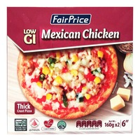 FairPrice Low GI Thick Crust Pizza - Mexican Chicken