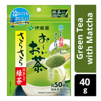 Oi Ocha Instant Green Tea with Matcha Powder