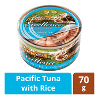 Princess Premium Can Cat Food - Pacific Tuna with Rice
