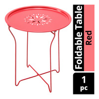 Imported Foldable Table - Red