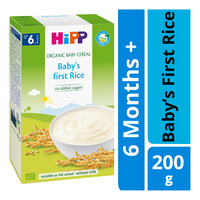 HiPP Organic Cereal Pap without Milk - Baby Rice (6+ Months)