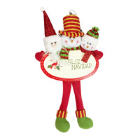 Christmas Hanging Ornament - Santa