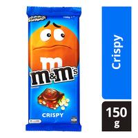 M&M's Block Chocolate Bar - Crispy