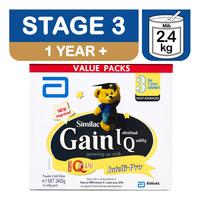 Abbott Similac Gain IQ Growing Up Milk Formula - Stage 3