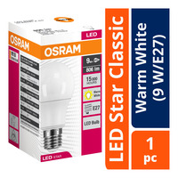 Osram LED Star Classic Bulb - Warm White (9 W/E27)