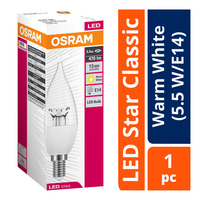 Osram LED Star Classic Bulb - Warm White (5.5 W/E14)