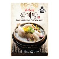 Simple Apron Frozen Korean Ginseng Chicken Soup