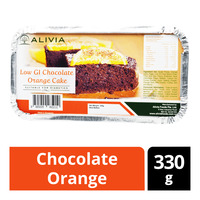Alivia Low GI Frozen Cake - Chocolate Orange