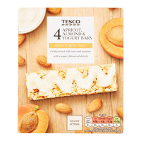 Tesco Cereal Bars - Apricot, Almond & Yogurt