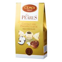 Cemoi Les Pearls Chocolate - Coconut & Pineapple (Milk)