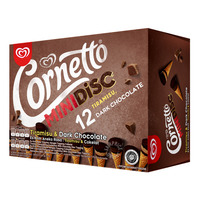 Cornetto Mini Ice Cream Cone - Tiramisu & Dark Chocolate