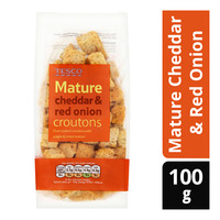 Tesco Croutons - Mature Cheddar & Red Onion