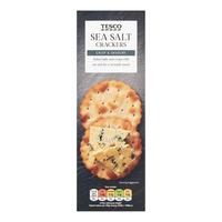 Tesco Crackers - Sea Salt