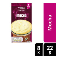 Tesco Cafe Style Instant Coffee - Mocha