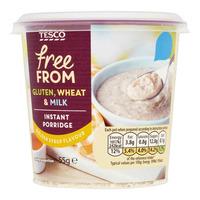 Tesco Free From Instant Porridge - Golden Syrup