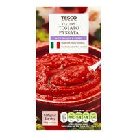 Tesco Italian Passata - Garlic & Herbs