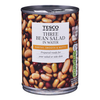 Tesco Three Bean Salad in Water
