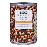 Tesco Beans in Water - Black Eyed