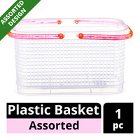 Imported Plastic Basket - Assorted