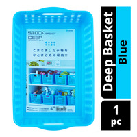 Inomata Stock Deep Basket - Blue