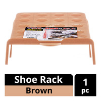 Imported Shoe Rack - Brown