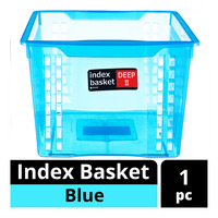 Imported Index Basket - Blue