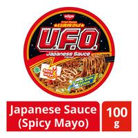 Nissin UFO Instant Bowl Fried Ramen - Japanese Sauce (Spicy Mayo)