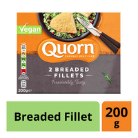 Quorn Frozen Vegan Breaded Fillet