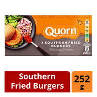 Quorn Frozen Southern Fried Burgers