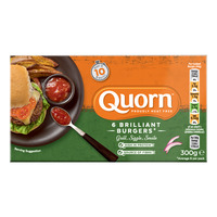 Quorn Frozen Burgers