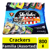 M.Y. San Sky Flakes Crackers - Familia (Assorted)
