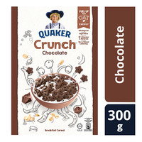 Quaker Crunch Cereal - Chocolate