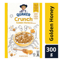 Quaker Crunch Cereal - Golden Honey