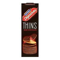 McVitie's Thins Digestive Biscuits - Dark Chocolate