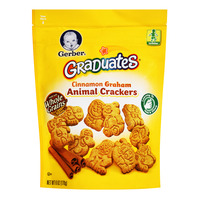 Gerber Graduates Baby Crackers - Cinnamon Graham (Animal)
